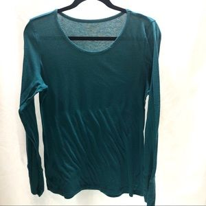 XL solid green long sleeve Maurices T-shirt